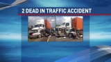 2 dead after car, 18-wheeler collide in Winnie area