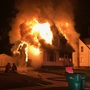 Fire destroys abandoned home in Battle Creek