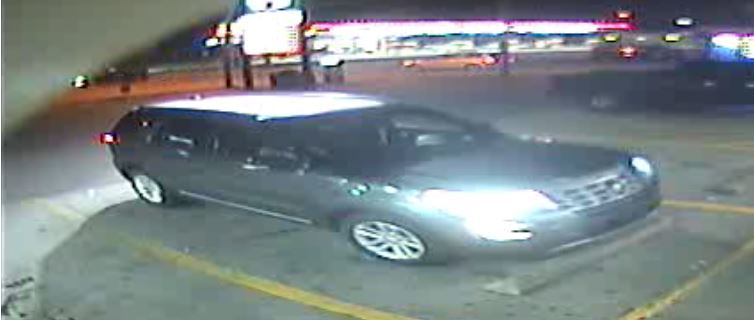 The car police believe the two suspects used (Roanoke Police)