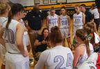 Heather Klipa talks to her team during a timeout (WLOS Staff) (002).jpg