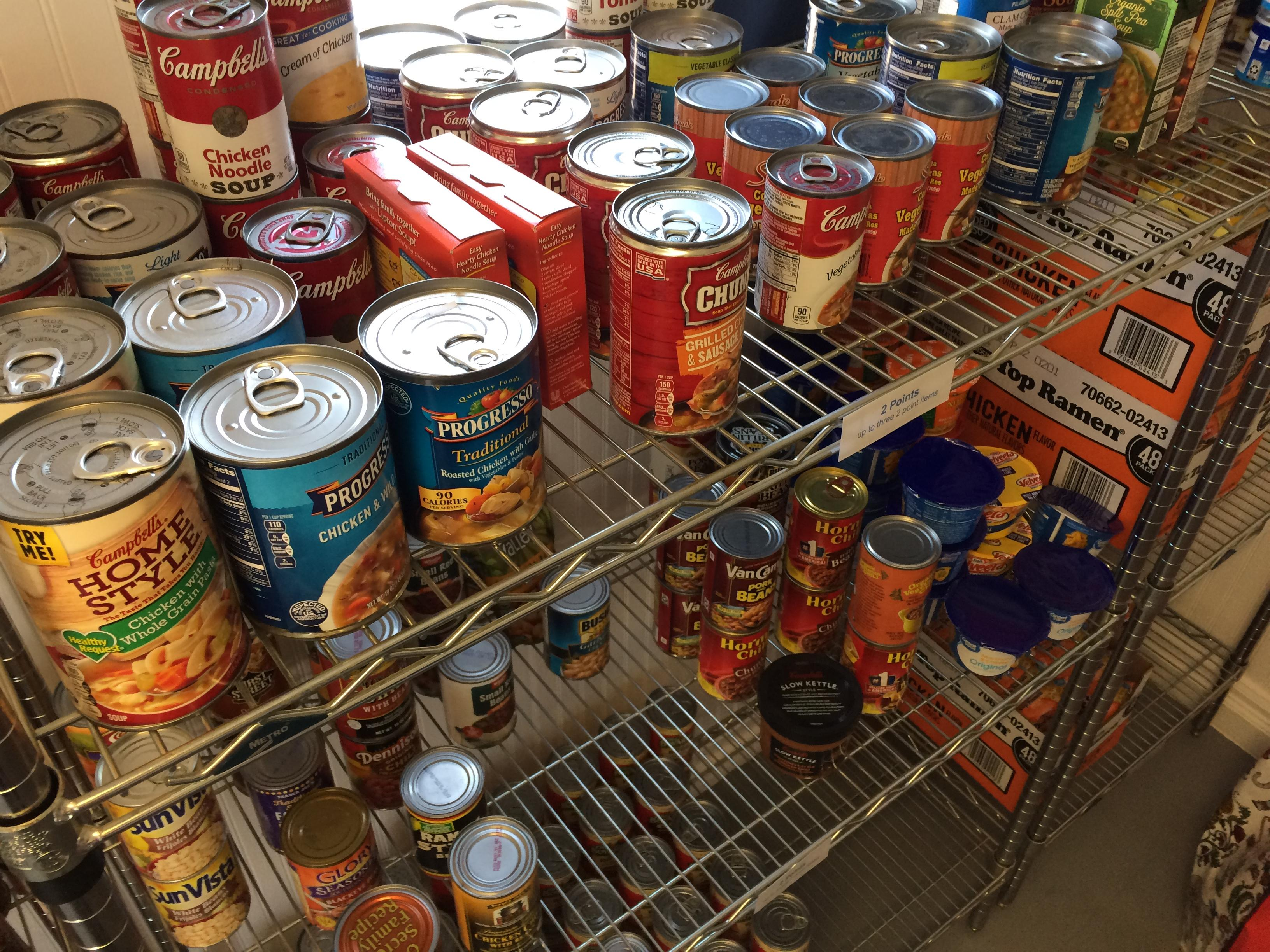 California State University, Bakersfield debuts its food pantry for students and staff who may experience food insecurity, Monday, Sept. 18, 2017. (KBAK/KBFX photo/Octavio Flores)