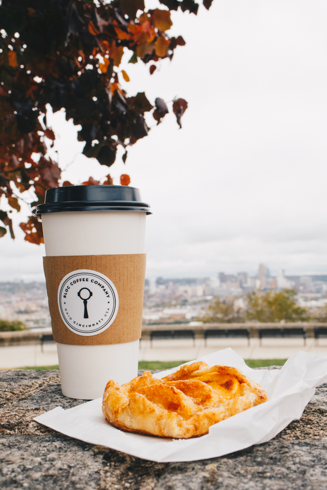 Grab a coffee to-go and a pastry and head a block down the road to Olden View Park! / Image: Catherine Viox // Published: 11.15.18