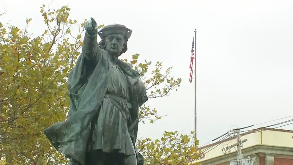Resolution on Columbus statue in Elmwood referred to committee