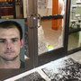 Sheriff: Man used trash can lid to break windows at Creswell City Hall