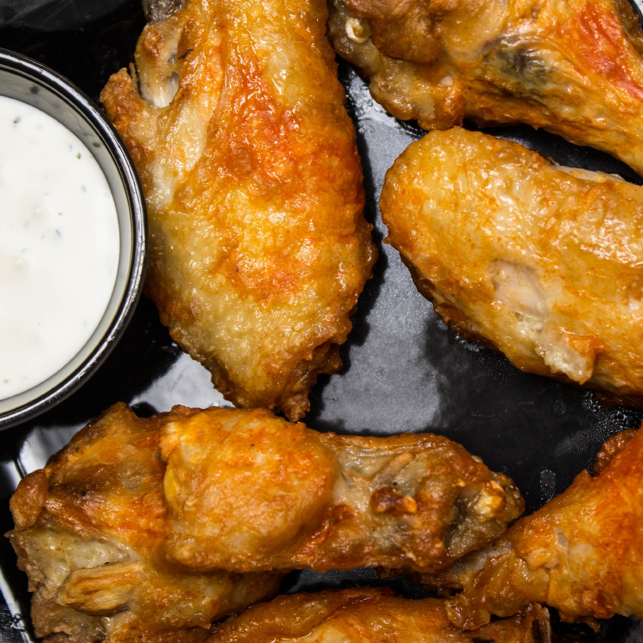 Mild buffalo wings with housemade ranch / Image: Catherine Viox // Published: 11.16.16