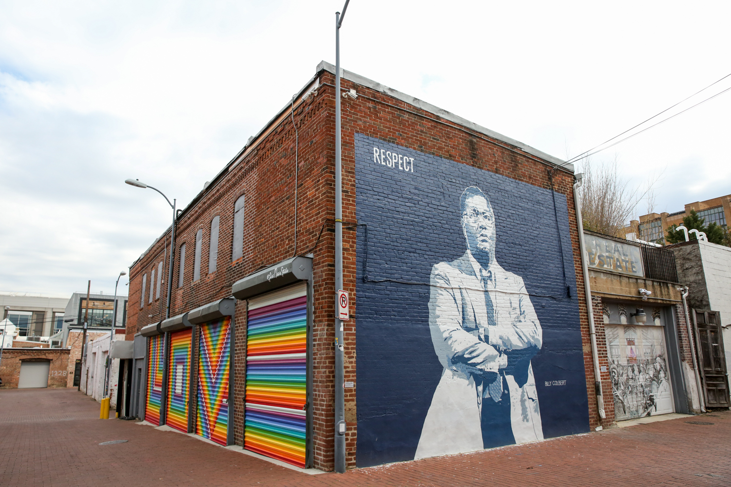 If rainbows aren't your thing, there are plenty of other options around Blagden Alley! The murals are a part of the D.C. Alley Museum. (Amanda Andrade-Rhoades/DC Refined){ }
