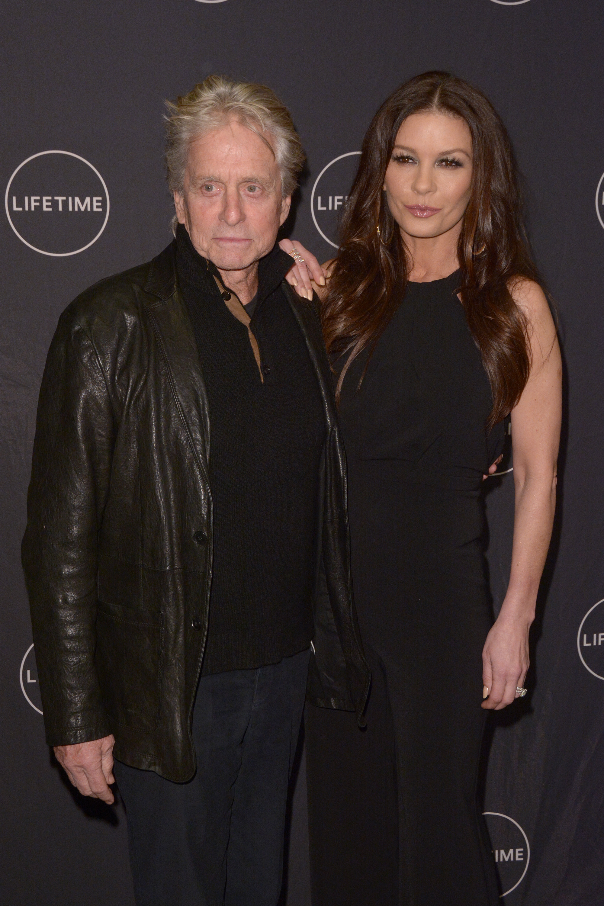 'Cocaine Godmother, The Griselda Blanco Story' - Screening at NeueHouse Madison Square - Arrivals                                    Featuring: Michael Douglas, Catherine Zeta-Jones                  Where: New York City, New York, United States                  When: 01 Dec 2017                  Credit: Ivan Nikolov/WENN.com