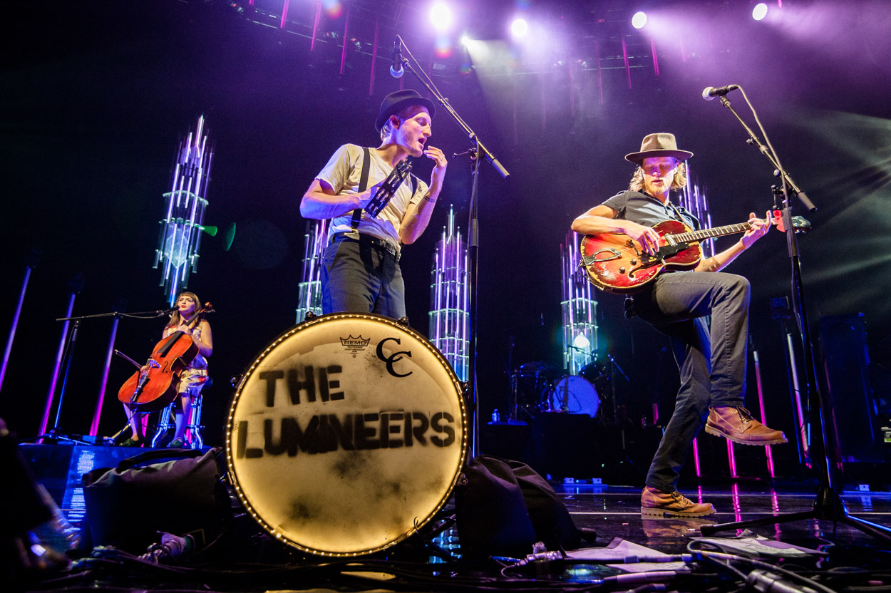 Lumineers, September 10, 2016. (Photo by Richie Downs Photography, courtesy of Merriwether Post Pavilion)