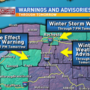 Winter storm warning through Wednesday