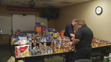 Radio host makes Trotwood Fire Station her home to collect donations