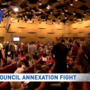 Hundreds of Clark County homeowners speak out to oppose annexation proposal
