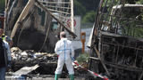 At least 18 feared dead in fiery crash of bus of senior citizens in Germany; 30 injured