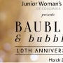 Baubles and Bubbles event helps local children