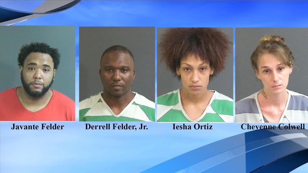 North Charleston police, SWAT team make 4 drug arrests, remove