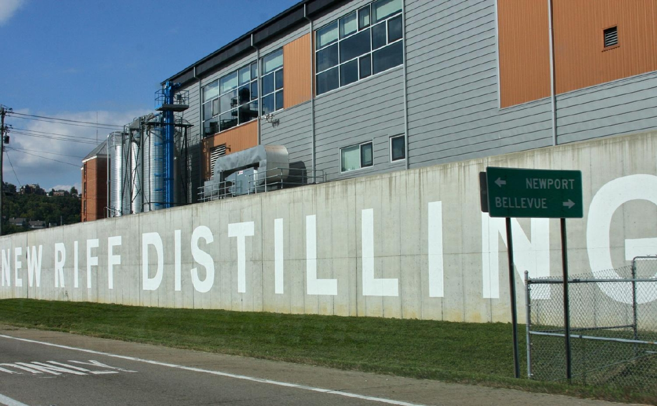 New Riff is a craft distillery and event center that makes bourbon, whiskey, and gin. The distillery offers free tours (& tastings) for those looking to expand their knowledge of the distilling process. It's located in the same complex as Party Source. / ADDRESS: 24 Distilling Way in Newport, KY // IMAGE: Molly Paz