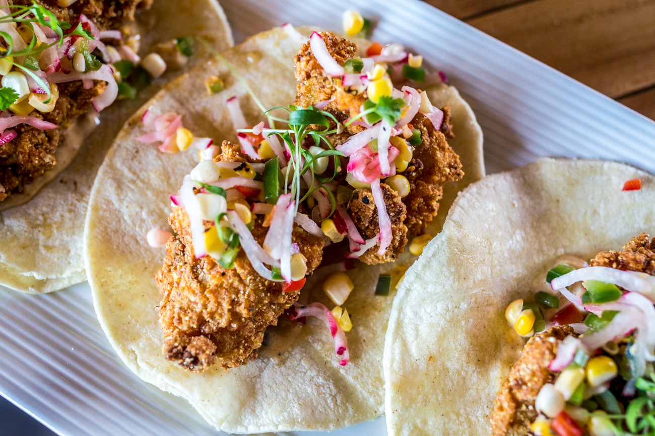 Catfish tacos with Miss Lidia's Salsa and remoulade / Image: Catherine Viox // Published: 7.18.19