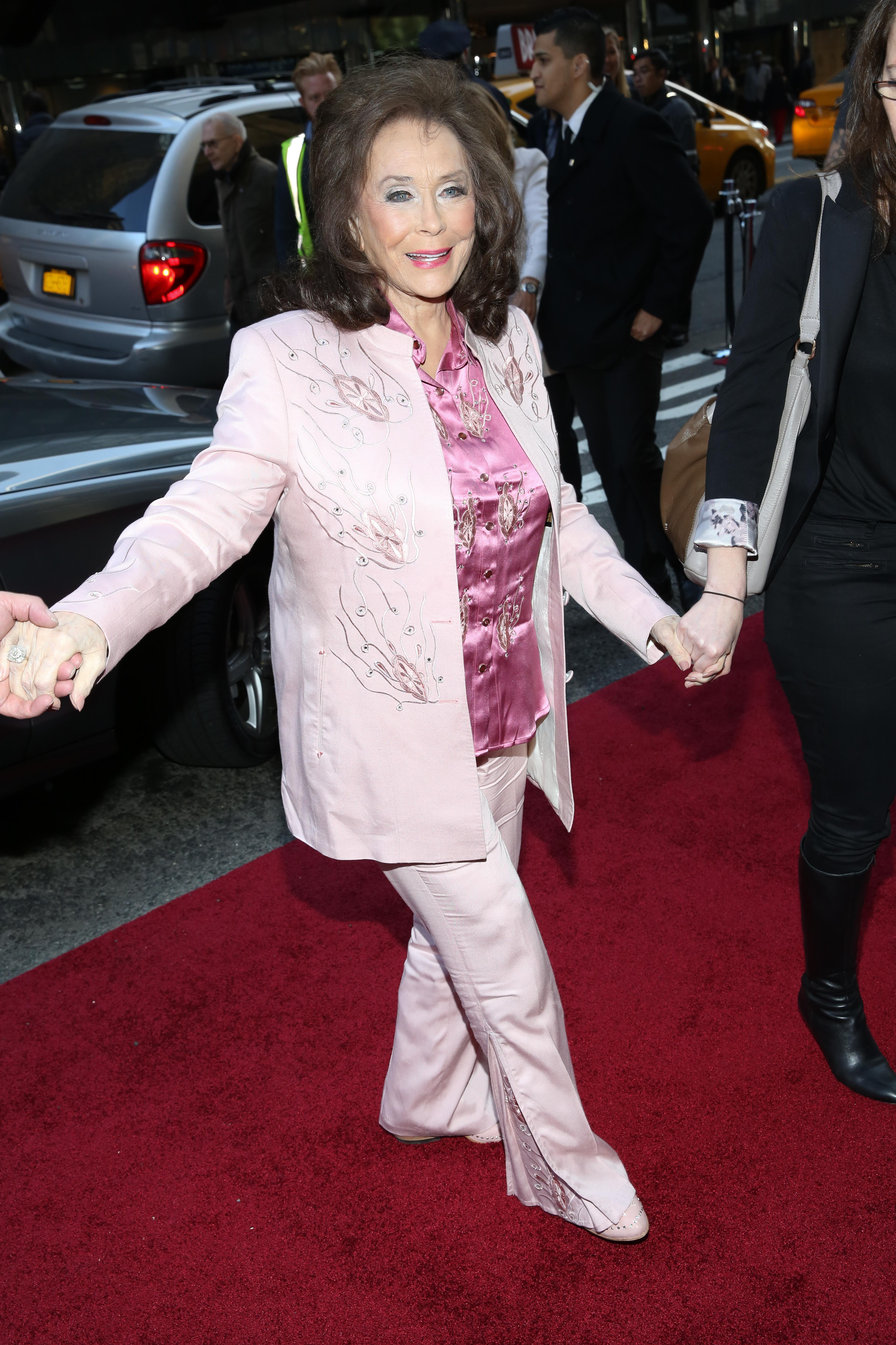 Billboard Women in Music 2015 at Cipriani 42nd Street - Arrivals  Featuring: Loretta Lynn Where: New York, New York, United States When: 11 Dec 2015 Credit: Andres Otero/WENN.com