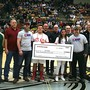 Students present thousands of dollars to suicide prevention group