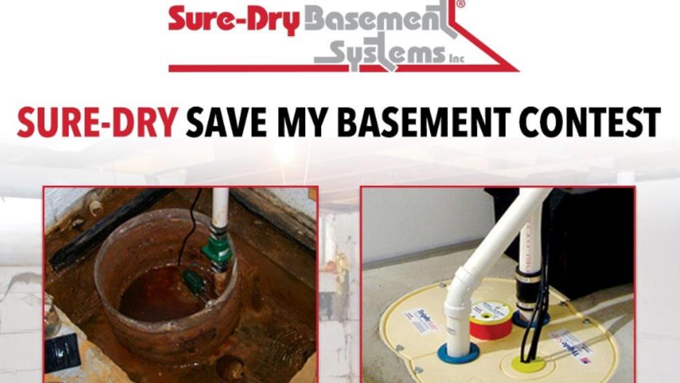 sure dry save my basement contest kicks off wluk rh fox11online com sure dry basements menasha classic sure dry basements complaints