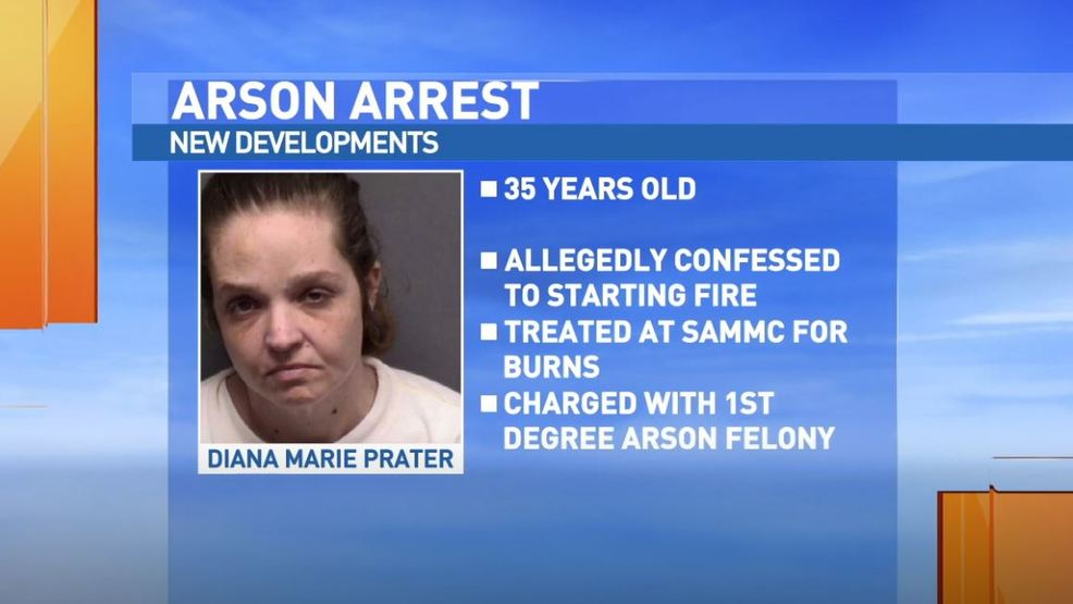 Woman admits to starting fire after being rescued from