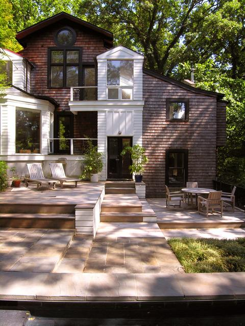 A  McInturff Architects home on Leeward Place in Bethesda, MD. (Image: Courtesy{ }McInturff  Architects)