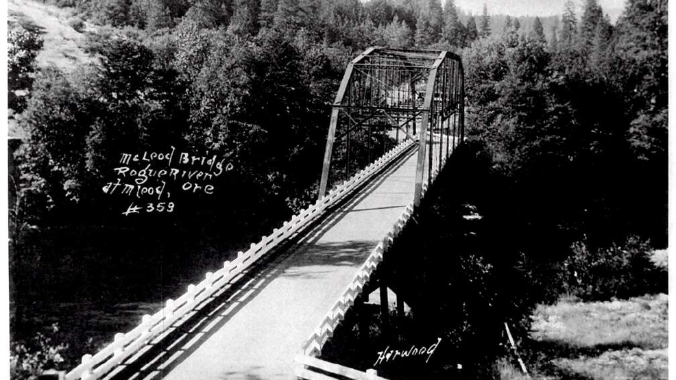 Lost Villages which once existed where is now Lost Creek Reservoir. Photo Courtesy Dennis Ellingson -McLeod Bridge