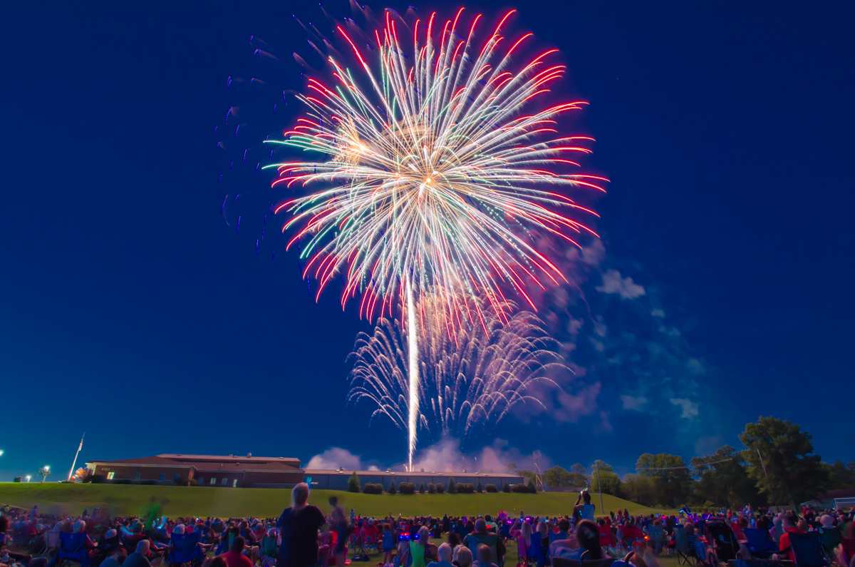 Colerain's Independence Day Fireworks Festival took place on Saturday, July 1 at the Colerain Administration Complex. And while the fireworks were certainly the highlight, the music, food, and overall good times made for quite a spectacular event. Happy 4th of July, everyone! / Image: Sherry Lachelle Photography // Published: 7.2.17
