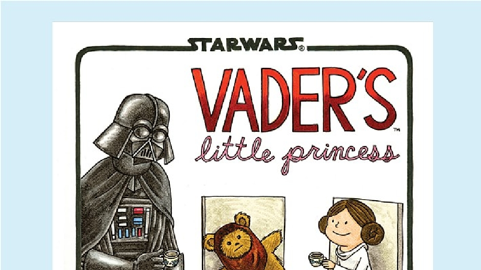 Star Wars Vader's Little Princess by Jeffrey Brown.jpg