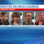 Four arrested on drug charges in Allamakee County