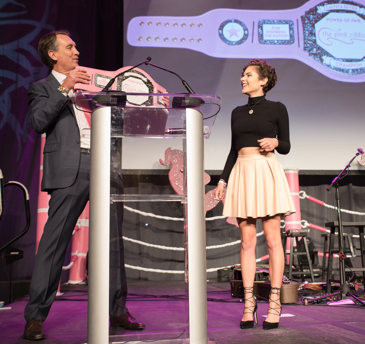 Calysta Bevier (Power of Pink Award Recipient) / Image: Sherry Lachelle Photography