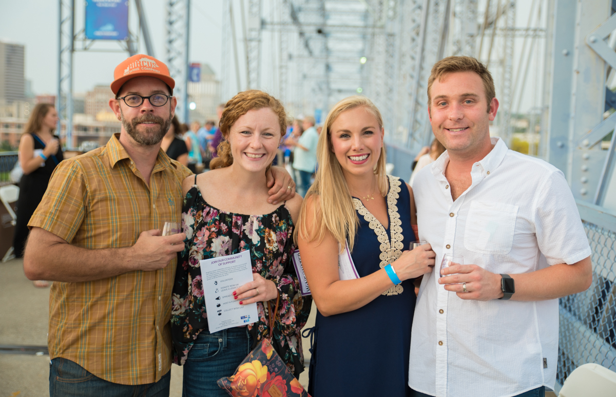 Ryan Fardo and Amy Weber with Molly & Will Fender{ }/ Image: Sherry Lachelle Photography // Published: 8.26.18