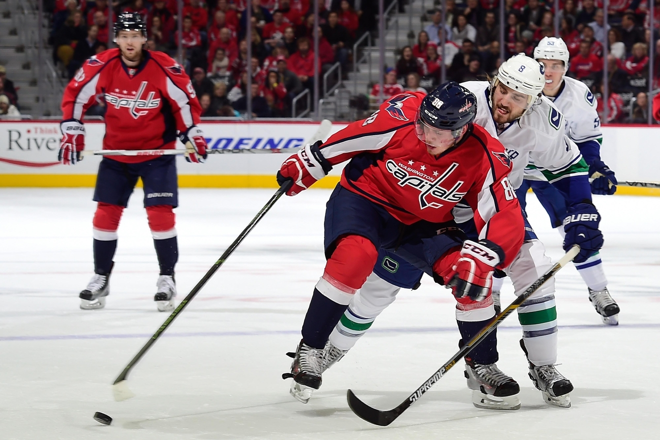 Washington Capitals{ }(Photo by Patrick McDermott/NHLI via Getty Images)