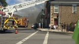Crews battle fire at tattoo shop in Victor, damage unknown