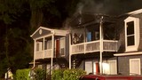 Apartment fire off of Azalea Road
