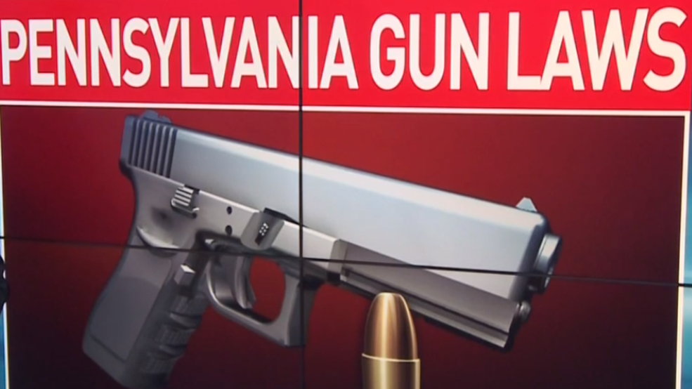 What are PA's gun laws and how do they look compared to