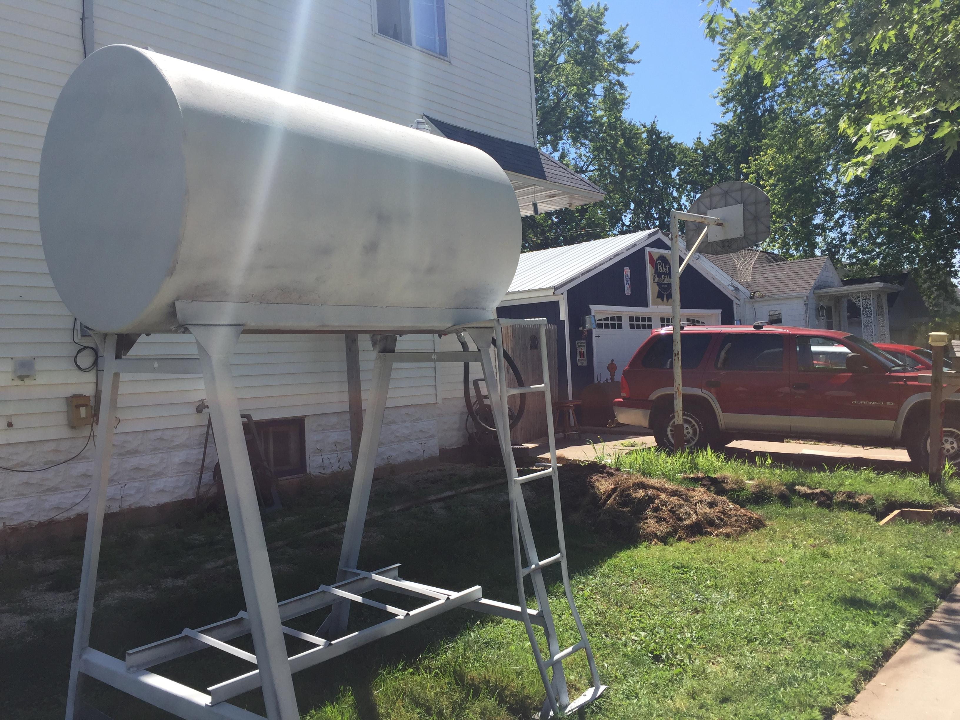 Officials from the City of Kaukauna say the side of the house follows front yard code because it is a corner lot. August 7, 2017 (WLUK/Pafoua Yang)