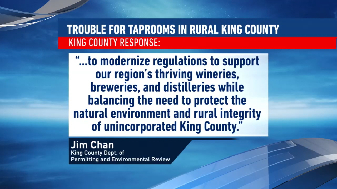2 King County breweries say they were forced to shutdown for unclear violations. (KOMO News)