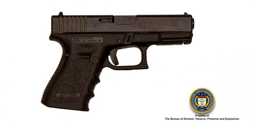 Photos of weapons similar to ones used in Pulse shooting.  Image Courtesy: ATF.