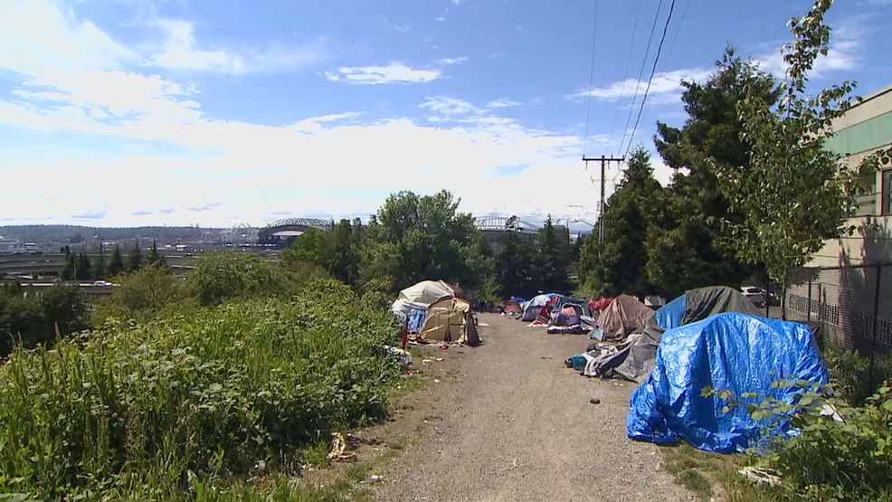 Notorious Seattle homeless camp to be cleared out Monday