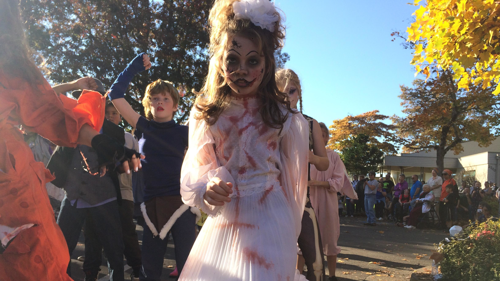 thriller flash mob takes place in south eugene