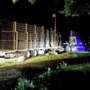 Semi takes wrong turn, barrels through Talent RV park