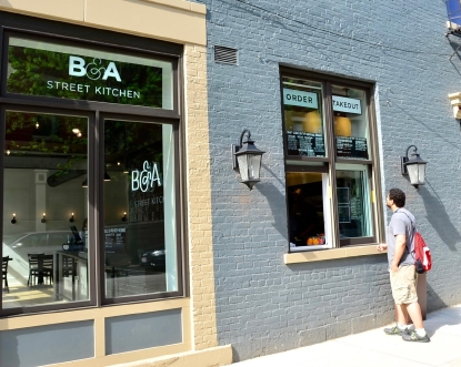 B A Street Kitchen Has Really Great Food An Even Greater
