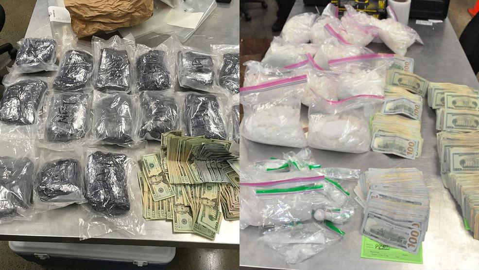 Police Drug Trafficking Bust Nets More Than 1 Mil Worth