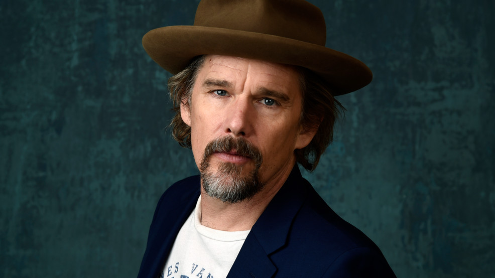 Ethan Hawke tapes audio edition of acclaimed novel 'Gilead'