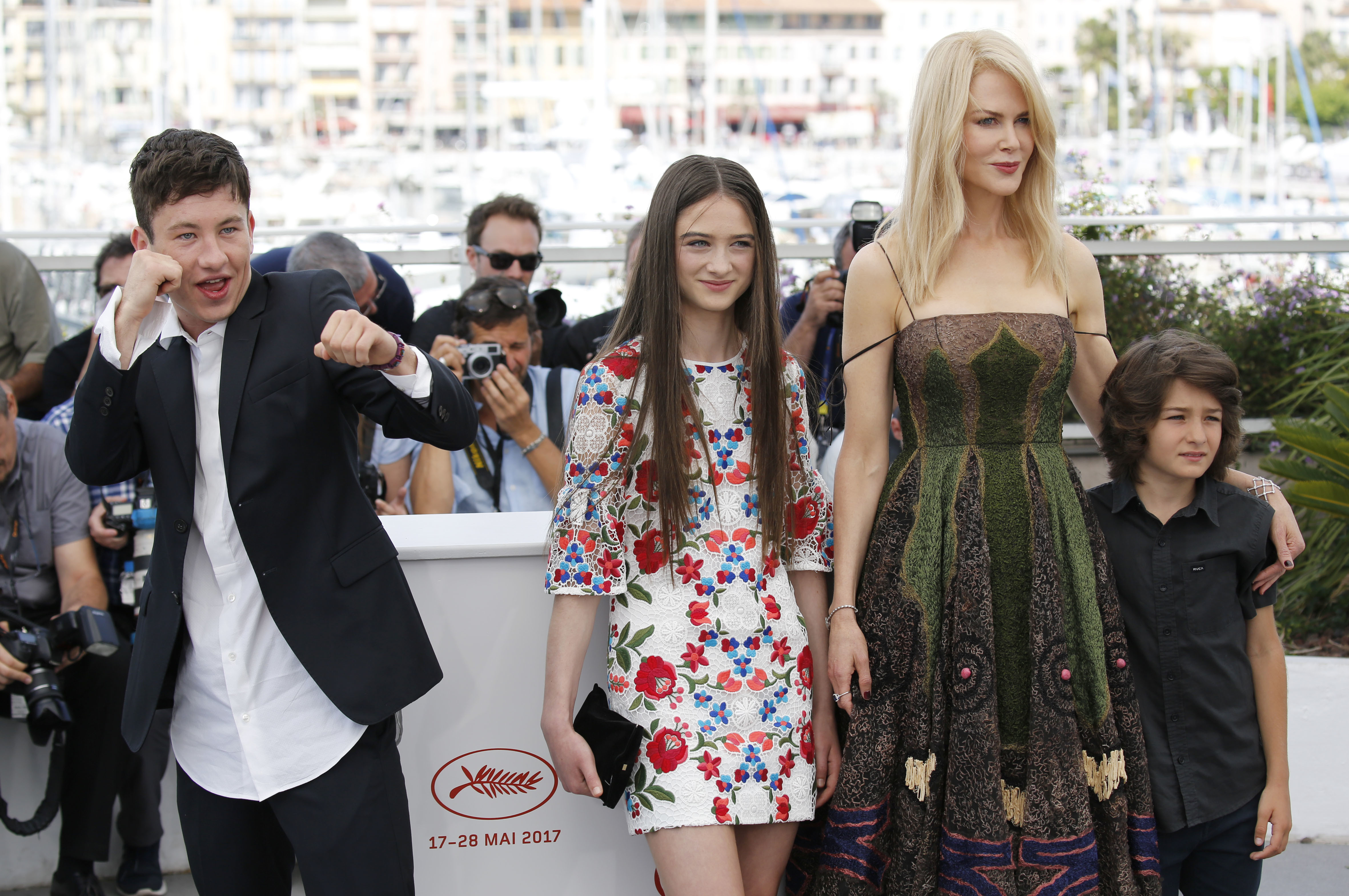 70th annual Cannes Film Festival - 'The Killing of a Sacred Deer' - Photocall  Featuring: Barry Keoghan, Raffey Cassidy, Nicole Kidman, Sunny Suljic Where: Cannes, France When: 22 May 2017 Credit: Dave Bedrosian/Future Image/WENN.com  **Not available for publication in Germany**