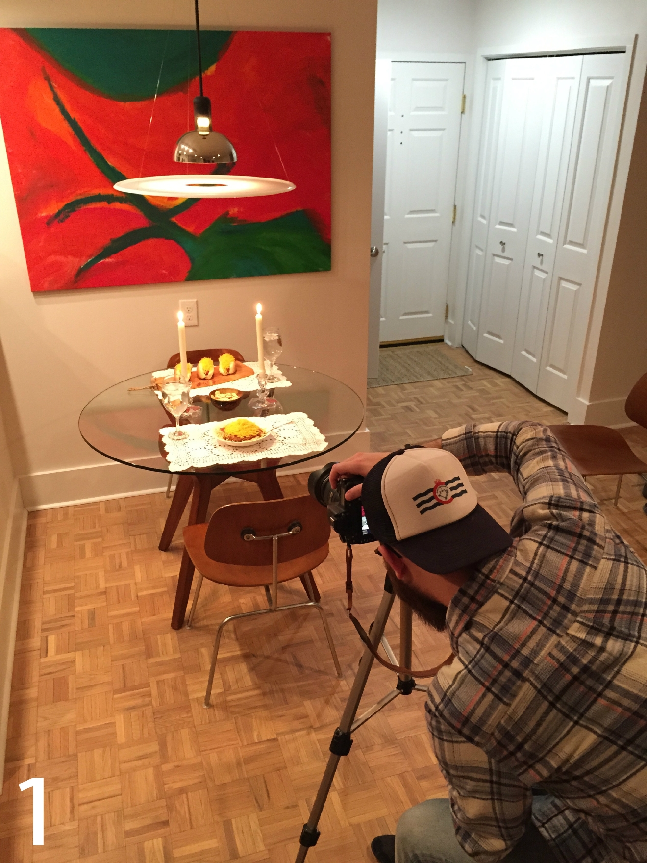 "#1 - Here's a sneak peek at our ""gourmet"" Skyline Chili photo shoot. The full story will come out on Feb. 11. Stay tuned! / Image: Leah Zipperstein"