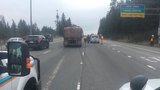 All lanes reopened on I-5 near Everett after semi loses trailer