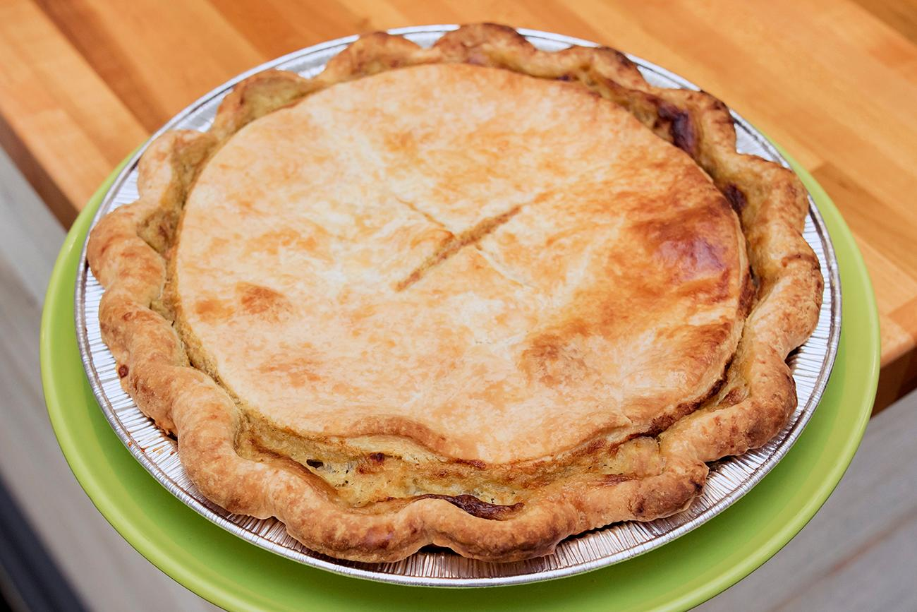 <p>Chicken pot pie / Image: Allison McAdams // Published: 2.7.19</p>