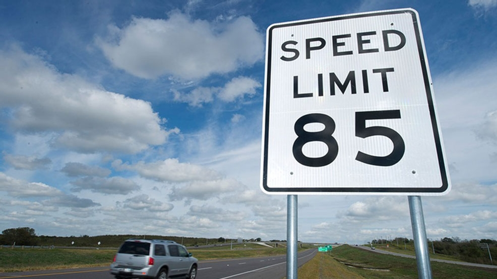 Texas Speed Limit 85 Map