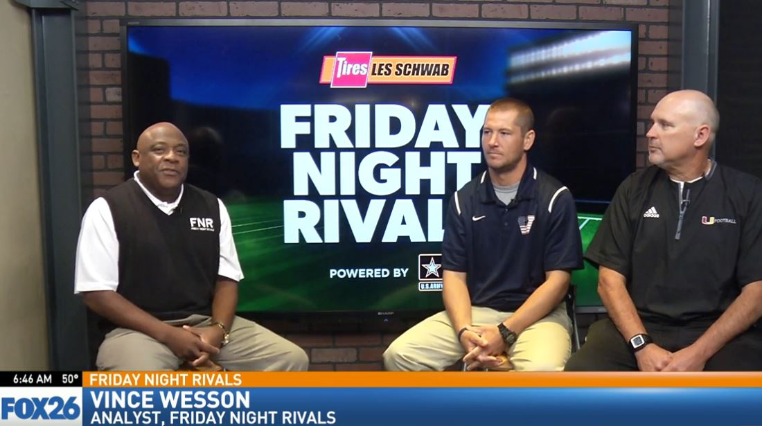 Friday Night Rivals analyst Vince Wesson sat down with Tulare Union head football coach, Darren Bennett, and Tulare Western head football coach, Ryan Rocha, to talk about Friday's game.